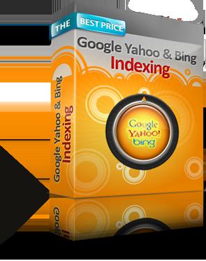 Google, Yahoo and Bing Indexing